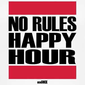 No Rules Happy Hour - Frauen Bio Tank Top