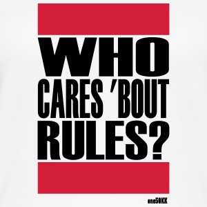 Who cares bout rules - Frauen Bio Tank Top