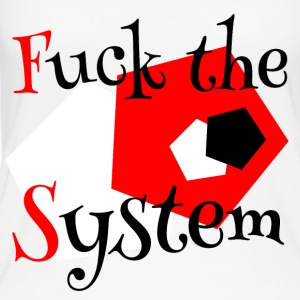 Fuck the System 1 - Women's Organic Tank Top