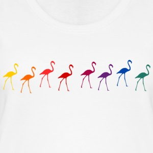 Flamingos - Frauen Bio Tank Top