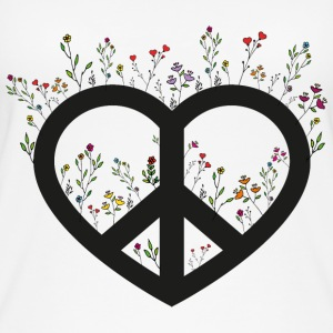 FLOWER POWER - Vrouwen bio tank top
