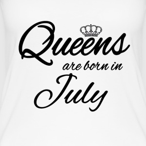 Queens Born July July Birthday Birthday - Women's Organic Tank Top