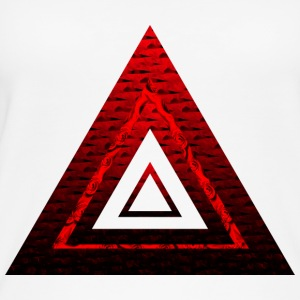 Red Ruby Rose Pyramid - Øko-singlet for kvinner