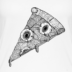 Meat Pizza - Camiseta de tirantes orgánica mujer