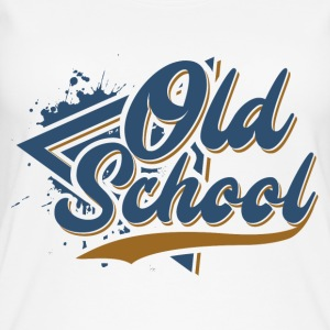 old school - Women's Organic Tank Top