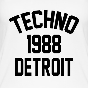 Techno 1988 Detroit - Øko tank top til damer