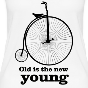 Old is the new young - Women's Organic Tank Top
