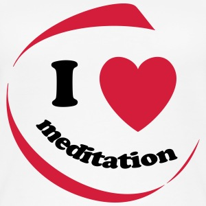 I love meditation - Frauen Bio Tank Top