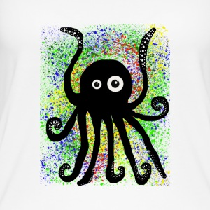 Sweet Octopus by BlackenedMoonArts - Øko tank top til damer