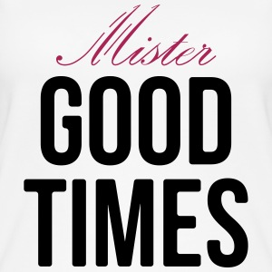 Mister Good Times, - Camiseta de tirantes orgánica mujer