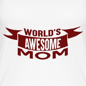 Worlds Awesome MOM - Ecological Products - Women's Organic Tank Top