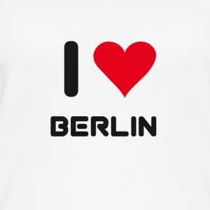 I love berlin heart Germany City love holidays B - Women's Organic Tank Top
