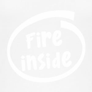 fire inside (1817B) - Frauen Bio Tank Top