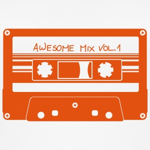 "Cassette ""Awesome Mix"" - Top da donna ecologico"