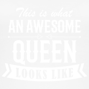 Awesome Queen - Naisten luomutoppi