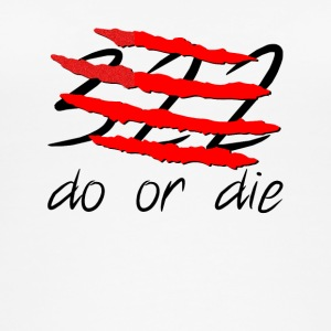 322 do or die crew neck - Frauen Bio Tank Top