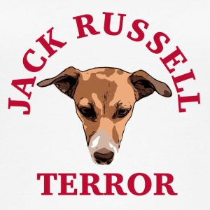 Jack Russell terror red - Frauen Bio Tank Top