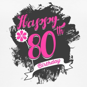 80 Birthday - Congratulations gift - Women's Organic Tank Top