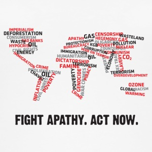 Fight Apathy. Act Now! - Women's Organic Tank Top