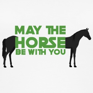 Horse / Farmhouse: May The Horse Be With You - Women's Organic Tank Top