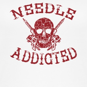 Needle addicted shirt tattoo tattooed - Women's Organic Tank Top
