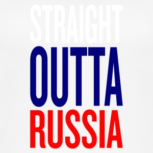 Straight outta russia - Women's Organic Tank Top