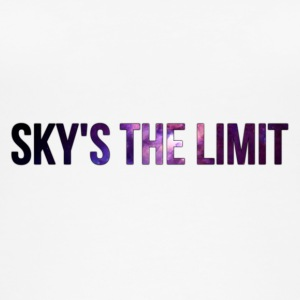 Sky is the limit - Ekologiczny top damski