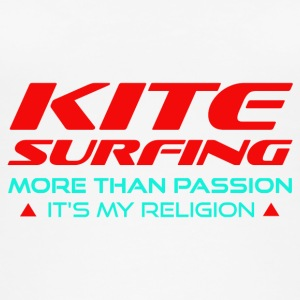 KITESURFING - MORE THAN PASSION - ITS MY RELIGION - Women's Organic Tank Top
