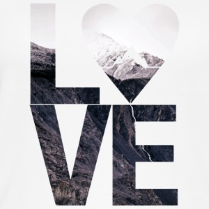 LOVE - Mountains - Naisten luomutoppi