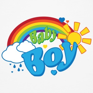 Rainbow Baby Boy - Øko-singlet for kvinner