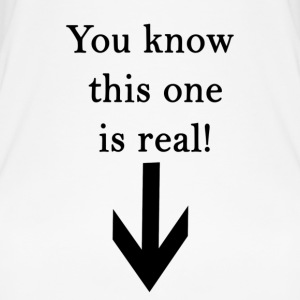 You know this one is real! - Women's Organic Tank Top