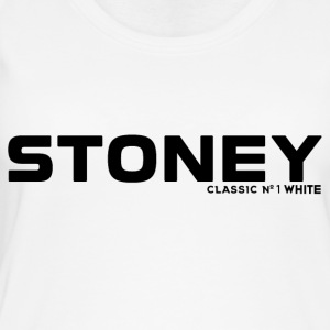 STONEY Classic No.1 WHITE - Øko-singlet for kvinner