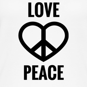 LOVE AND PEACE - Women's Organic Tank Top