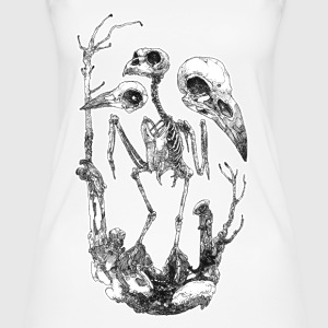 Vogelskelett Skullection - Frauen Bio Tank Top