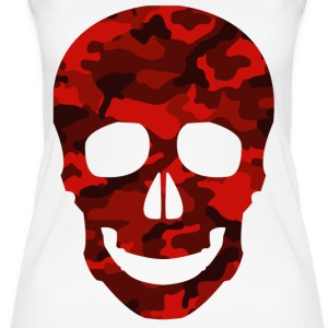 Red Skull CAMO TEES - Frauen Bio Tank Top