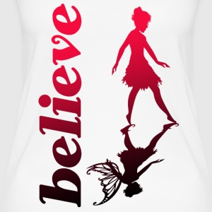 believe in fairys - Frauen Bio Tank Top