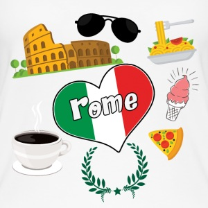 I love Rome 2 - Women's Organic Tank Top