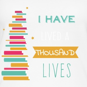 Lived a thousand Lives - Frauen Bio Tank Top