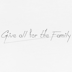 Give_all_for_the_Family_ - Camiseta de tirantes orgánica mujer