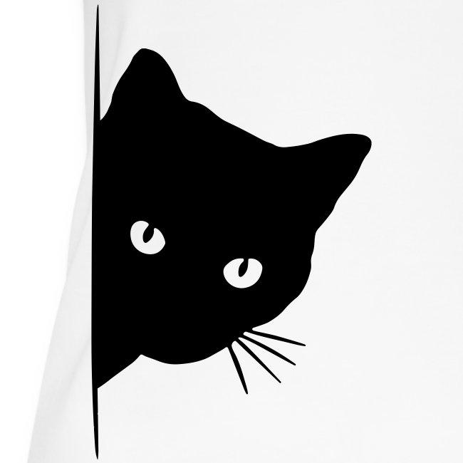 Vorschau: peeking cat - Frauen Bio Tank Top von Stanley & Stella