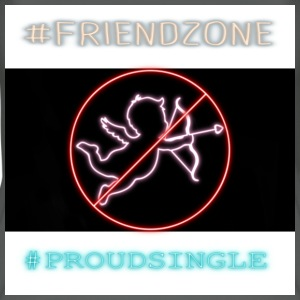 #Friendzone - Øko-singlet for kvinner