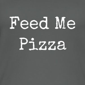 feed me la pizza - Top da donna ecologico