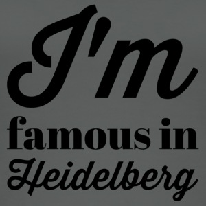 In the famous in heidelberg - Women's Organic Tank Top