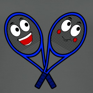 Cute Tennis Rackets - Women's Organic Tank Top
