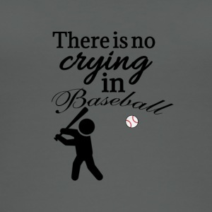 There is no crying in baseball - Women's Organic Tank Top