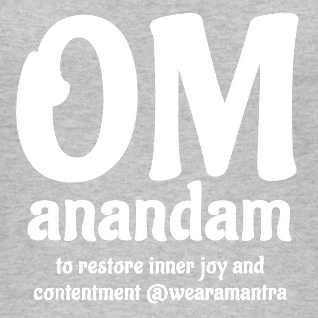 Om Anandam 2 white