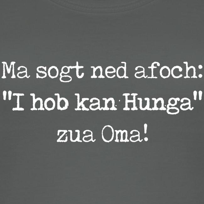 """Vorschau: Ma sogt ned afoch """"I hob kan Hunga"""" zua Oma - Frauen Bio Tank Top von Stanley & Stella"""