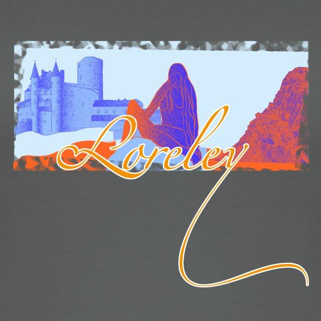 Burg Katz und die Loreley