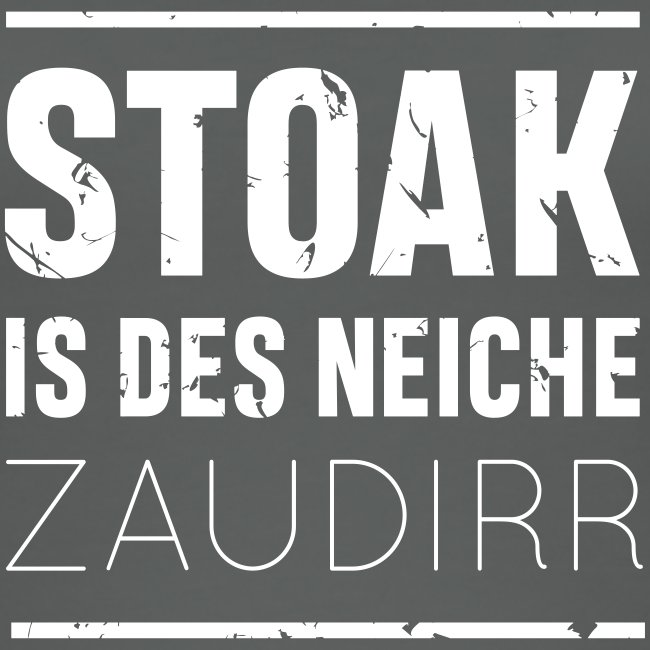 Stoak is des neiche zaudirr - Frauen Bio Tank Top von Stanley & Stella