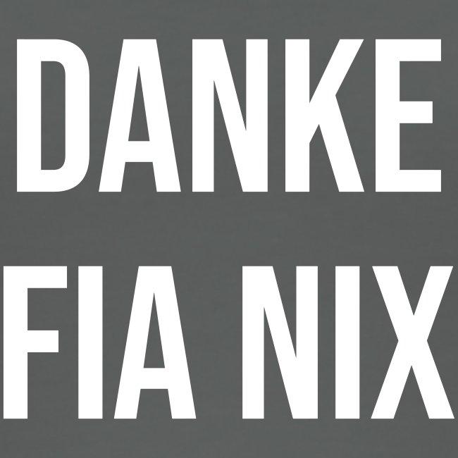 Vorschau: Danke fia nix - Frauen Bio Tank Top von Stanley & Stella